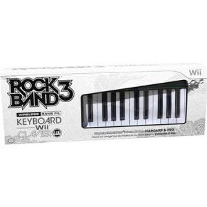 Sell My Rock Band 3 Wireless Pro Keyboard and Game Bundle Nintendo Wii G