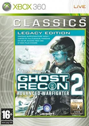 Sell My Tom Clancys Ghost Recon Advanced Warfighter 2 - Legacy Edition x