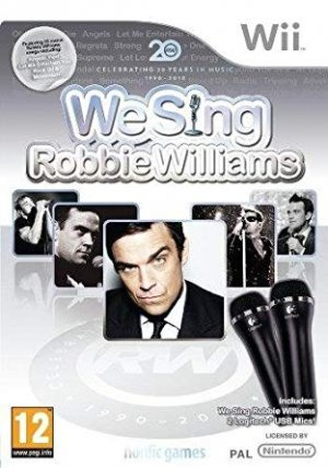 Sell My We Sing Robbie Williams and 2 Logitech USB Microphones Nintendo