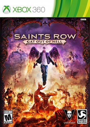 Sell My Xbox One - Saints Row 4 Re-elected / Gat Out Of Hell Reorder xBo