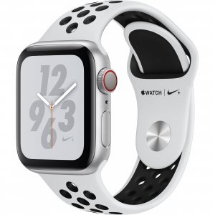 Sell My Apple Watch Nike+ Series 4 GPS + Cellular 40 mm Silver Aluminium for cash
