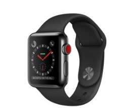 Sell My Apple Watch Series 3 38mm Space Black Stainless Steel GPS Cellul for cash