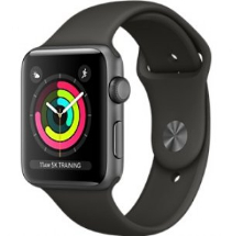 Sell My Apple Watch Series 3 38mm Space Grey Aluminium Case GPS with Cel for cash