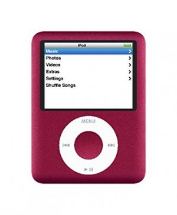 Sell My Apple iPod Nano Video 3rd Gen 8GB Red