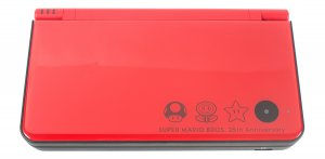 Sell My Nintendo DSi XL 25th Anniversary Edition with New Mario Bros