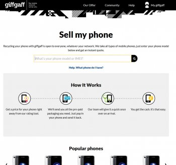 Visit Giffgaff Recycle to recycle your Nortel mobile or tablets for cash with sell any mobile