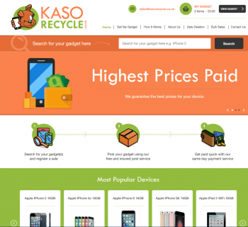 Visit Kaso Recycle to recycle your  mobile or tablets for cash with sell any mobile