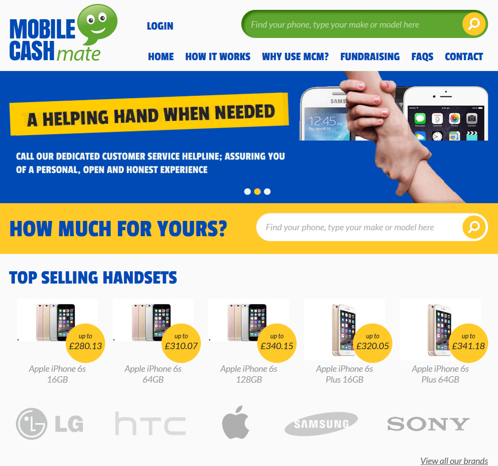 Visit Mobile Cash Mate to recycle your  mobile or tablets for cash with sell any mobile