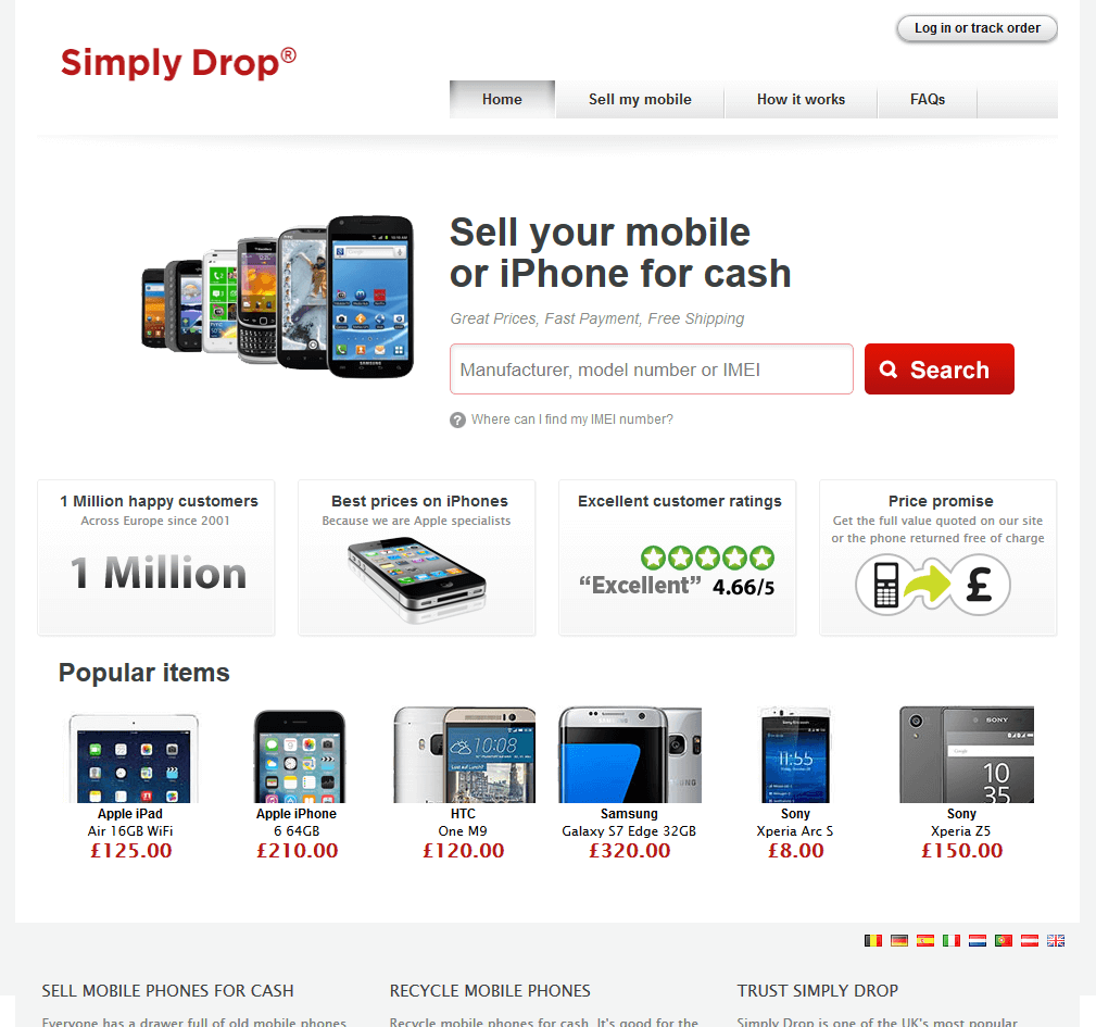 Visit Simply Drop to recycle your Nokia mobile or tablets for cash with sell any mobile